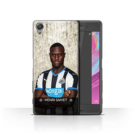 Official NUFC Case/Cover for Sony Xperia X Performance/Saivet Design/NUFC Football Player 15/16 Mobile phones