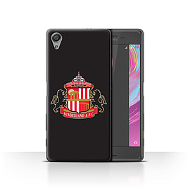 Sunderland AFC Case/Cover for Sony Xperia X Performance/Black Design/SAFC Football Club Crest Mobile phones