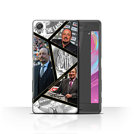 Official Newcastle United FC Case/Cover for Sony Xperia X/Montage Design/NUFC Rafa Ben?tez Mobile phones