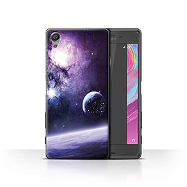 Official Chris Cold Case/Cover for Sony Xperia X Performance/Planet/Moon Design/Alien World Cosmos Mobile phones