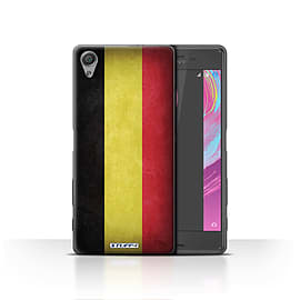STUFF4 Case/Cover for Sony Xperia X / Belgium Design / Flags Collection Mobile phones