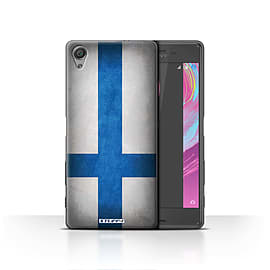 STUFF4 Case/Cover for Sony Xperia X / Finland/Finnish Design / Flags Collection Mobile phones
