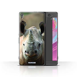STUFF4 Case/Cover for Sony Xperia XA / Rhino Design / Wildlife Animals Collection Mobile phones
