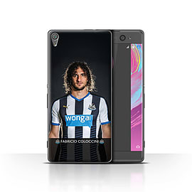 Newcastle United FC Case/Cover for Sony Xperia XA/Coloccini Design/NUFC Football Player 15/16 Mobile phones