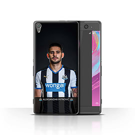 Newcastle United FC Case/Cover for Sony Xperia XA/Mitrovic Design/NUFC Football Player 15/16 Mobile phones