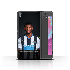 Newcastle United FC Case/Cover for Sony Xperia XA/Wijnaldum Design/NUFC Football Player 15/16 Mobile phones