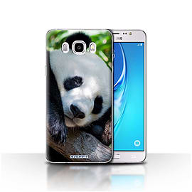 STUFF4 Case/Cover for Samsung Galaxy J5 2016 / Panda Bear Design / Wildlife Animals Collection Mobile phones