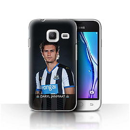 Official NUFC Case/Cover for Samsung Galaxy J1 Nxt/Mini/Janmaat Design/NUFC Football Player 15/16 Mobile phones