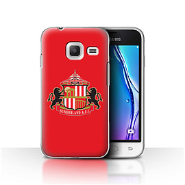 Sunderland AFC Case/Cover for Samsung Galaxy J1 Nxt/Mini/Red Design/SAFC Football Club Crest Mobile phones