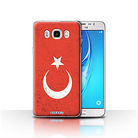 STUFF4 Case/Cover for Samsung Galaxy J5 2016 / Turkey/Turkish Design / Flags Collection Mobile phones