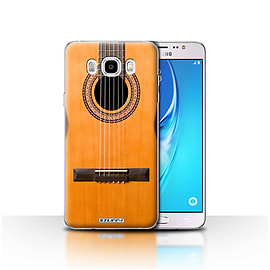 STUFF4 Case/Cover for Samsung Galaxy J5 2016 / Wood/Wooden Acoustic Design / Guitar Collection Mobile phones