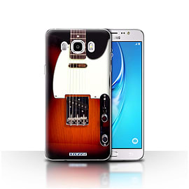 STUFF4 Case/Cover for Samsung Galaxy J5 2016 / Sunburst Electric Design / Guitar Collection Mobile phones