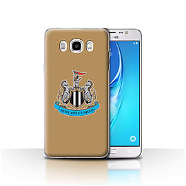 Newcastle United FC Case/Cover for Samsung Galaxy J5 2016/Colour/Gold Design/NUFC Football Crest Mobile phones