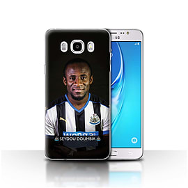 Newcastle United FC Case/Cover for Samsung Galaxy J5 2016/Doumbia Design/NUFC Football Player 15/16 Mobile phones