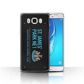 Newcastle United FC Case/Cover for Samsung Galaxy J5 2016/Black/Blue Design/St James Park Sign Mobile phones