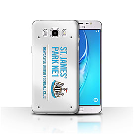 Newcastle United FC Case/Cover for Samsung Galaxy J5 2016/White/Blue Design/St James Park Sign Mobile phones