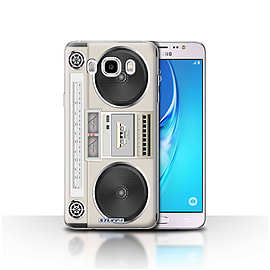 STUFF4 Case/Cover for Samsung Galaxy J5 2016 / Boombox Design / Retro Tech Collection Mobile phones
