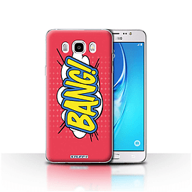 STUFF4 Case/Cover for Samsung Galaxy J5 2016 / Bang! Design / Comics/Cartoon Words Collection Mobile phones