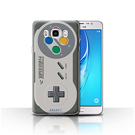 STUFF4 Case/Cover for Samsung Galaxy J5 2016 / Super Nintendo Design / Games Console Collection Mobile phones