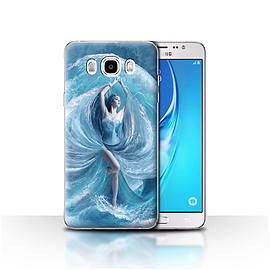 STUFF4 Case/Cover for Samsung Galaxy J5 2016 / Sea Dress Design / Fantasy Angel Collection Mobile phones