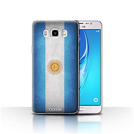 STUFF4 Case/Cover for Samsung Galaxy J5 2016 / Argentina/Argentinean Design / Flags Collection Mobile phones
