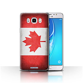 STUFF4 Case/Cover for Samsung Galaxy J5 2016 / Canada/Canadian Design / Flags Collection Mobile phones