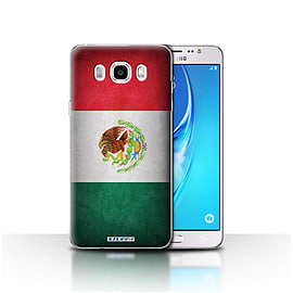 STUFF4 Case/Cover for Samsung Galaxy J5 2016 / Mexico/Mexican Design / Flags Collection Mobile phones