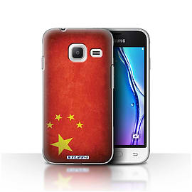 STUFF4 Case/Cover for Samsung Galaxy J1 Nxt/Mini / China/Chinese Design / Flags Collection Mobile phones