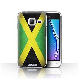 STUFF4 Case/Cover for Samsung Galaxy J1 Nxt/Mini / Jamaica/Jamaican Design / Flags Collection Mobile phones
