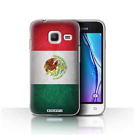 STUFF4 Case/Cover for Samsung Galaxy J1 Nxt/Mini / Mexico/Mexican Design / Flags Collection Mobile phones
