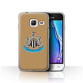 Newcastle United FC Case/Cover for Samsung Galaxy J1 Nxt/Mini/Colour/Gold Design/NUFC Football Crest Mobile phones