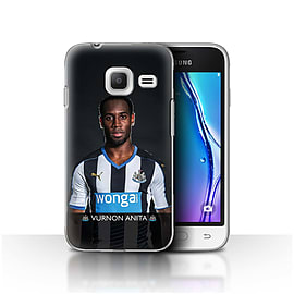 Official NUFC Case/Cover for Samsung Galaxy J1 Nxt/Mini/Anita Design/NUFC Football Player 15/16 Mobile phones