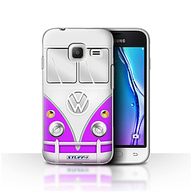 STUFF4 Case/Cover for Samsung Galaxy J1 Nxt/Mini / Purple Design / VW Camper Van Collection Mobile phones
