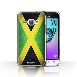 STUFF4 Case/Cover for Samsung Galaxy J1 2016 / Jamaica/Jamaican Design / Flags Collection Mobile phones