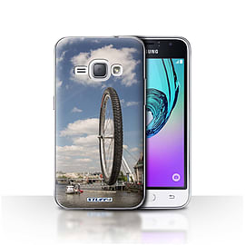 STUFF4 Case/Cover for Samsung Galaxy J1 2016 / London Eye Design / Imagine It Collection Mobile phones