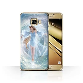 Official Elena Dudina Case/Cover for Samsung Galaxy C7 / Air Dress Design / Fantasy Angel Collection Mobile phones