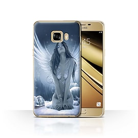 Official Elena Dudina Case/Cover for Samsung Galaxy C7 / La Nieve Design / Fantasy Angel Collection Mobile phones