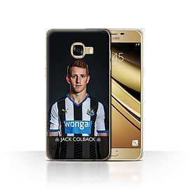 Newcastle United FC Case/Cover for Samsung Galaxy C5/Colback Design/NUFC Football Player 15/16 Mobile phones