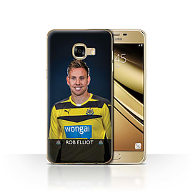 Newcastle United FC Case/Cover for Samsung Galaxy C5/Elliot Design/NUFC Football Player 15/16 Mobile phones