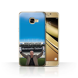 Official Newcastle United FC Case/Cover for Samsung Galaxy C5/Welcome Design/NUFC Rafa Ben?tez Mobile phones