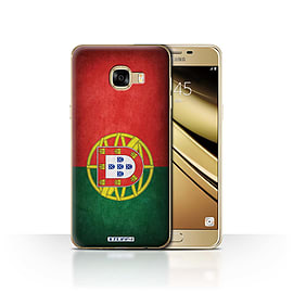 STUFF4 Case/Cover for Samsung Galaxy C5 / Portugal/Portuguese Design / Flags Collection Mobile phones