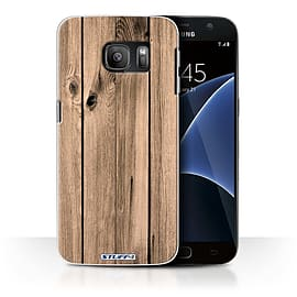 STUFF4 Case/Cover for Samsung Galaxy S7/G930 / Plank Design / Wood Grain Effect/Pattern Collection Mobile phones