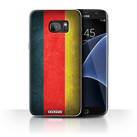 STUFF4 Case/Cover for Samsung Galaxy S7 Edge/G935 / Germany/German Design / Flags Collection Mobile phones