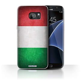 STUFF4 Case/Cover for Samsung Galaxy S7 Edge/G935 / Italy/Italian Design / Flags Collection Mobile phones