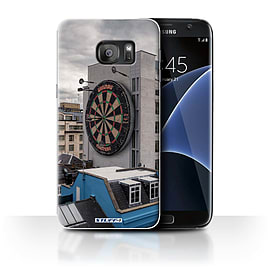 STUFF4 Case/Cover for Samsung Galaxy S7 Edge/G935 / Bullseye Design / Imagine It Collection Mobile phones
