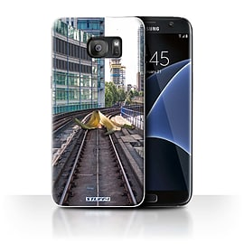 STUFF4 Case/Cover for Samsung Galaxy S7 Edge/G935 / Slippery Tracks Design / Imagine It Collection Mobile phones