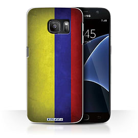 STUFF4 Case/Cover for Samsung Galaxy S7/G930 / Columbia/Columbian Design / Flags Collection Mobile phones