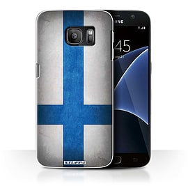 STUFF4 Case/Cover for Samsung Galaxy S7/G930 / Finland/Finnish Design / Flags Collection Mobile phones