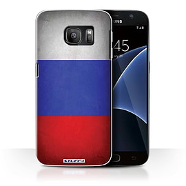 STUFF4 Case/Cover for Samsung Galaxy S7/G930 / Russia/Russian Design / Flags Collection Mobile phones