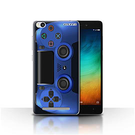 STUFF4 Case/Cover for Xiaomi Redmi 3 / Blue Design / Playstation PS4 Collection Mobile phones
